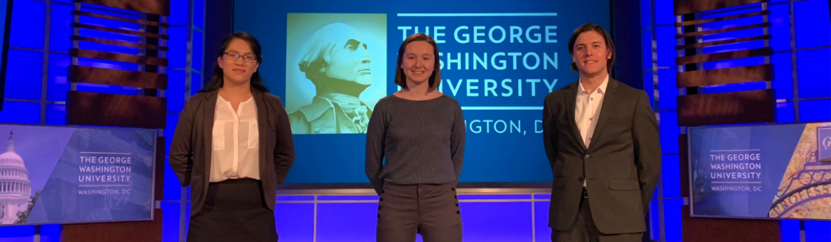 "George Hacks featured in ""GW Students Pursue Startups and Entrepreneurship"""