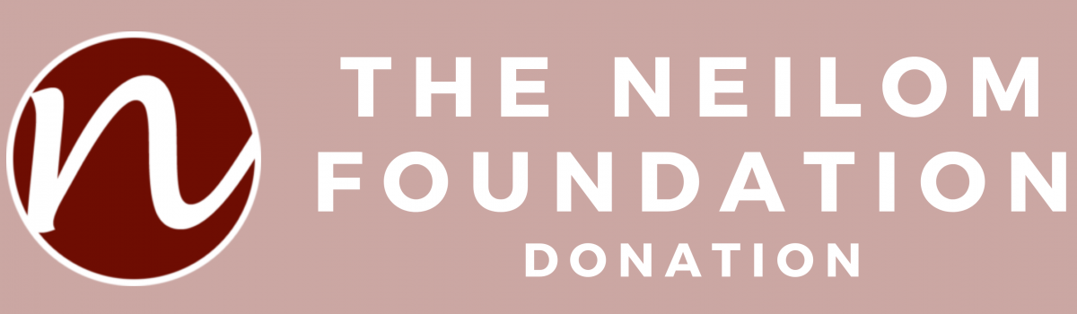 George Hacks Receives a Donation from the Neilom Foundation